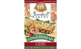 Sunbelt Bakery Gingerbread Chewy Granola Bars