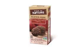 Back to Nature Double Dark Chocolate Cherry Brownie