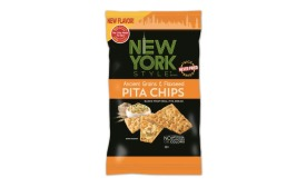 New York Style Ancient Grains & Flaxseed Pita Chips