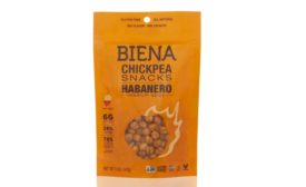 Biena Habanero Chickpea Snacks