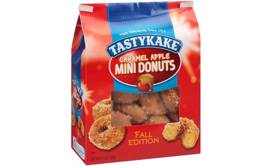Tastykake Mini Donuts 2015 09 22 Snack And Bakery