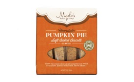 Marlo's Bakeshop Limited Edition Chocolate Pumpkin Pie Soft-Baked Biscotti