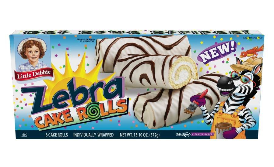 Groovy Little Debbie Zebra Products 2016 04 18 Snack And Bakery Funny Birthday Cards Online Eattedamsfinfo