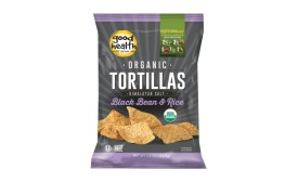 Good Health black bean and rice tortilla chips