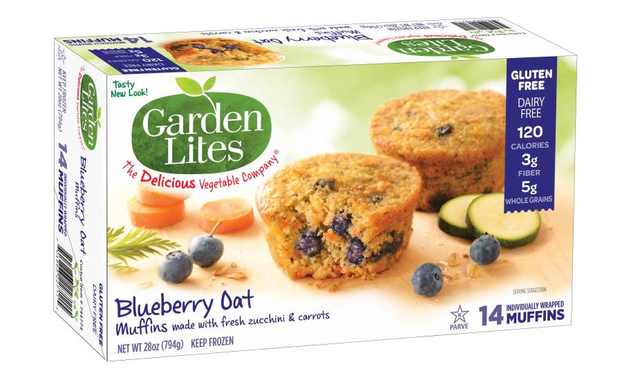 Garden Lites Blueberry Oat Muffins 2016 02 04 Snack And Bakery