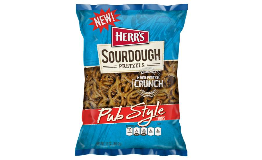 Herr's Pub Style Sourdough Pretzel Thins