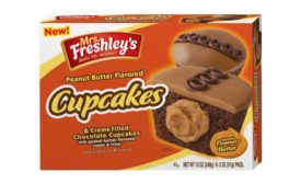 Mrs. Freshley's Peanut Butter Cupcakes