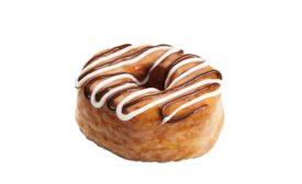 Dunkin' Donuts Fudge Croissant Donut