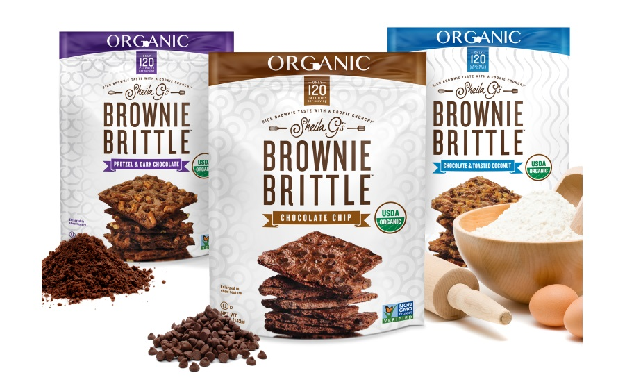 Brownie Brittle new flavors