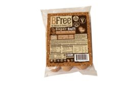 BFree brown seeded hot dog buns