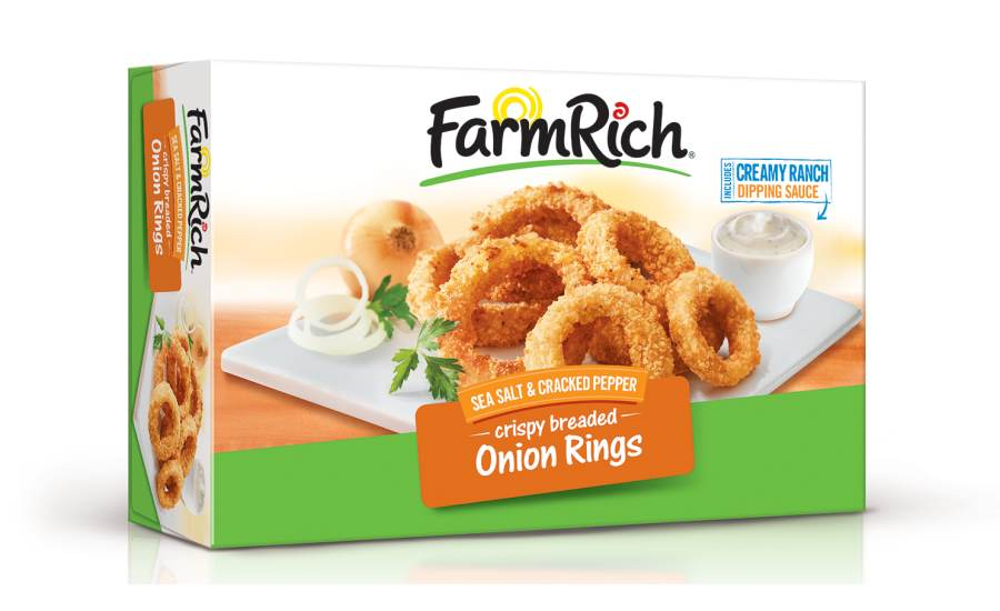 Farm Rich Sea Salt & Cracked Pepper Onion Rings