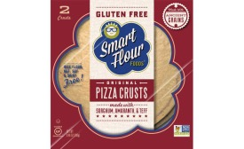 Smart Flour Foods Non-GMO Project verified pizza crusts