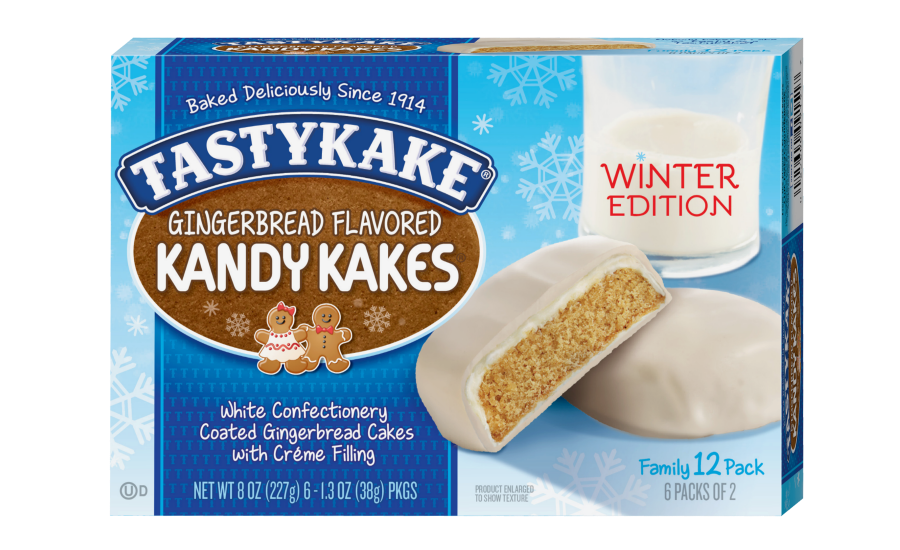 Tastykake gingerbread Kandy Kakes