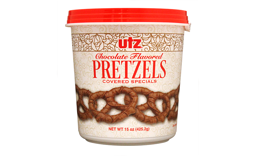 Utz chocolate-covered pretzels