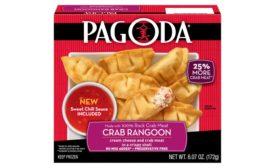 Pagoda frozen crab rangoon