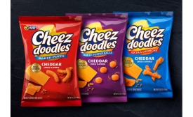 Cheez Doodles cheese-flavored snack