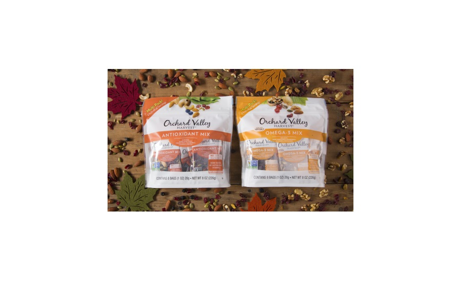 Orchard Valley Harvest Wellness Mix fruit and nut snacks