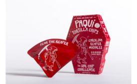 Paqui Carolina Reaper potato chip