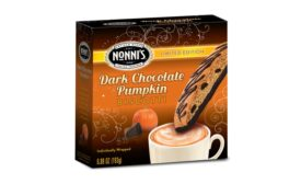 Nonnis Dark Chocolate Pumpkin biscotti