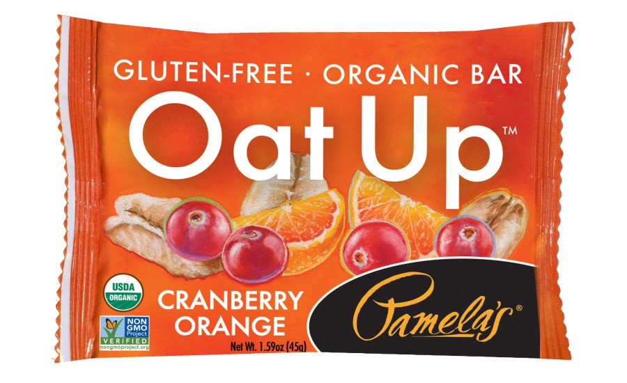 Pamelas cranberry orange bars