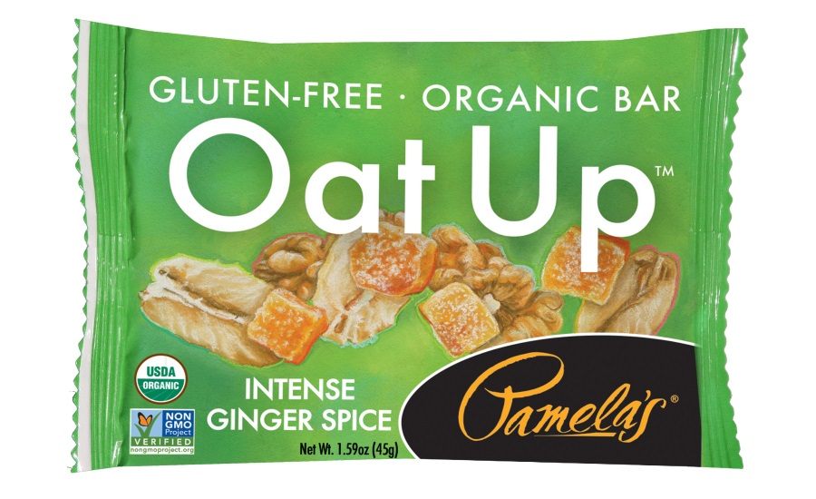 Pamelas Intense ginger spice bars
