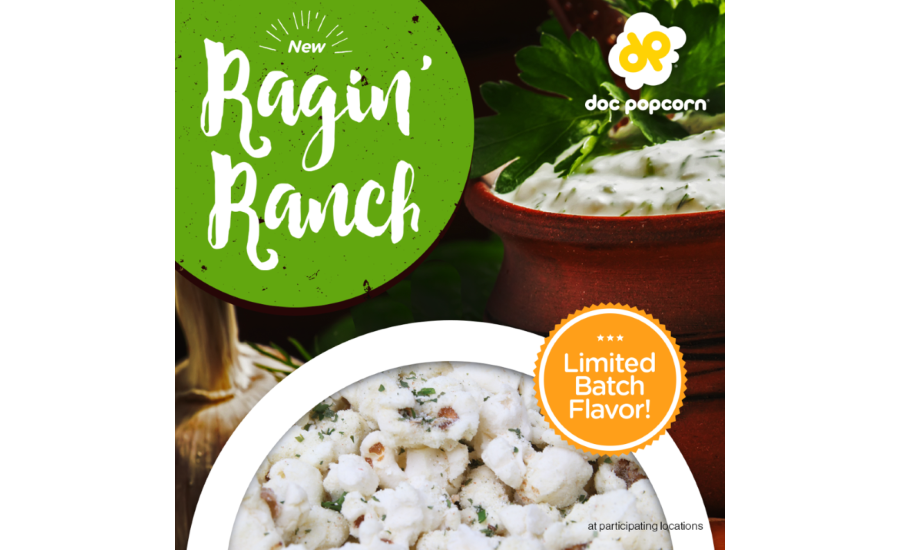 Doc Popcorn Ragin Ranch flavor