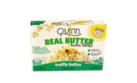 Quinn Snacks Real Butter Tastes Better microwave popcorn
