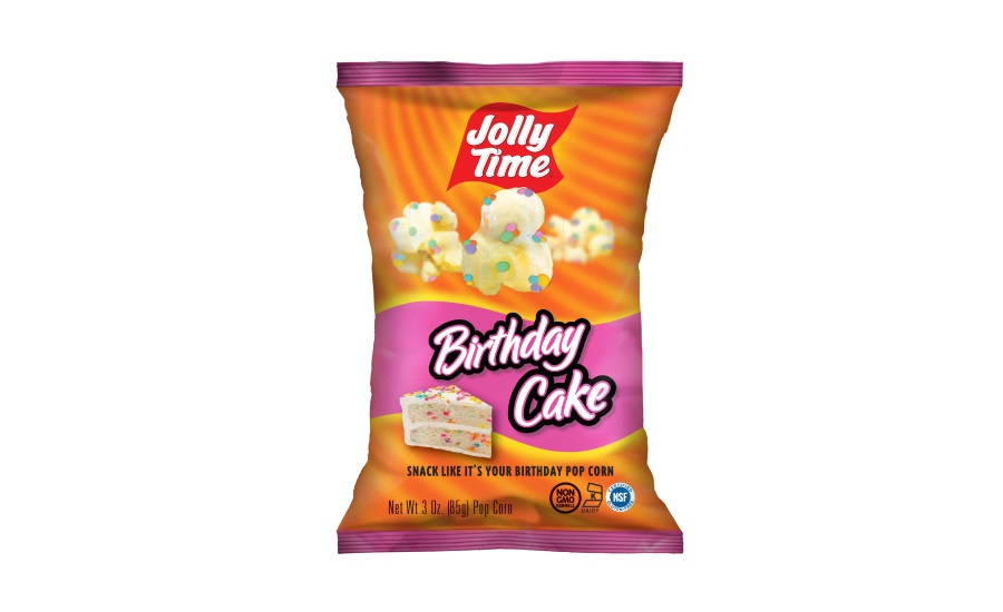 Outstanding Jolly Time New Popcorn Flavors 2017 09 07 Snack And Bakery Funny Birthday Cards Online Fluifree Goldxyz