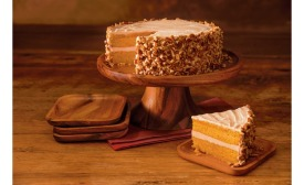 Harry & David pumpkin spice layer cake