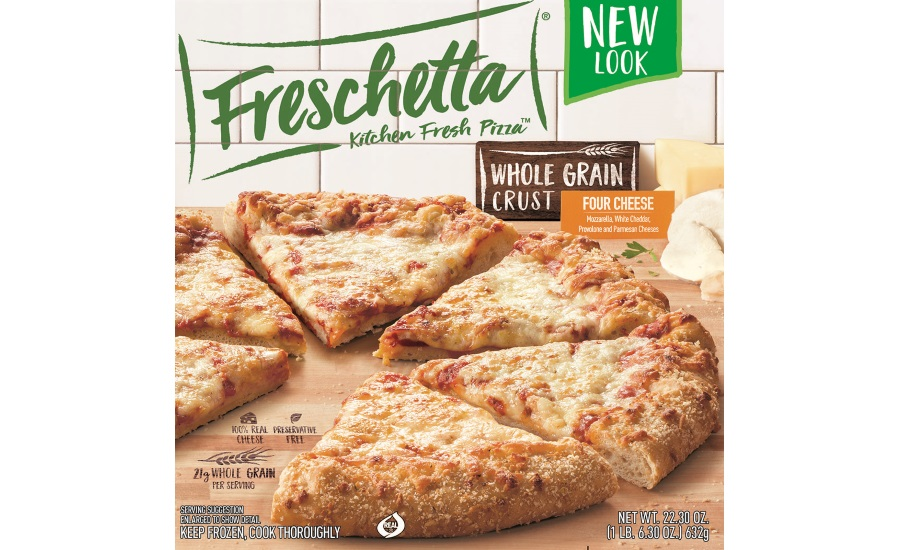Freschetta new packaging pizza