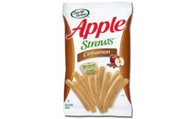 Hain Celestial cinnamon apple straws