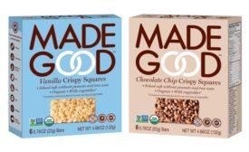 MadeGood crispy granola squares
