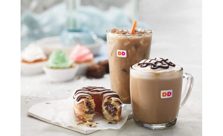 Dunkin Donuts Valentines doughnuts 2017