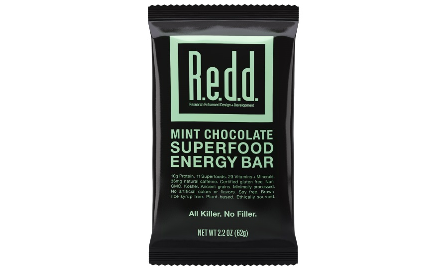REDD mint chocolate superfood bar