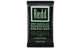 REDD mint chocolate superfood bar