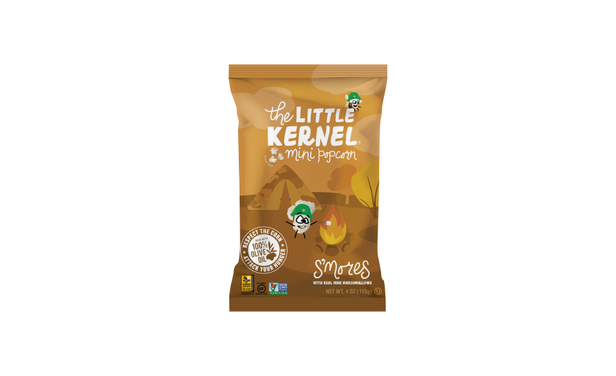 The Little Kernel miniature popcorn smores flavor