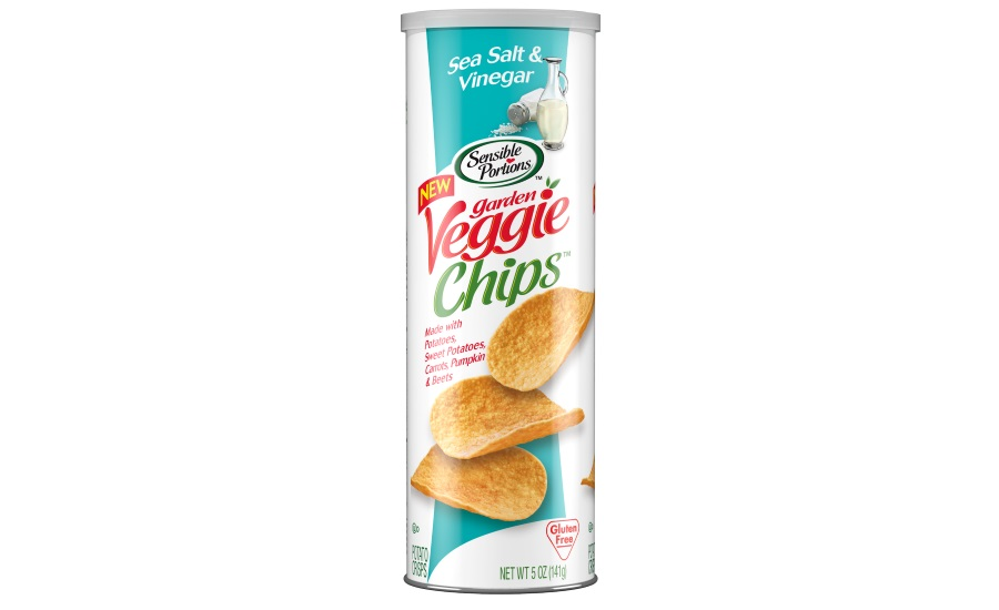 Sensible portions garden veggie chips in salt and vinegar - Sensible portions garden veggie chips ...