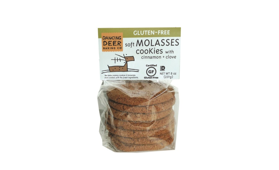 Dancing Deer gluten-free molasses clove cookies