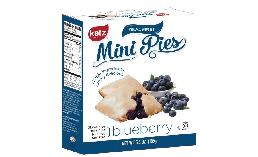 Katz Gluten Free Real Fruit Mini Pies 2017 06 16 Snack