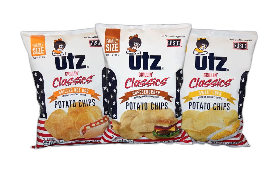 Utz Grillin Classics potato chips