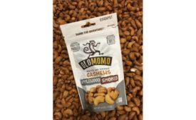 OLOMOMO applewood smoked cashews