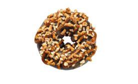 Dunkin Donuts chocolate pretzel