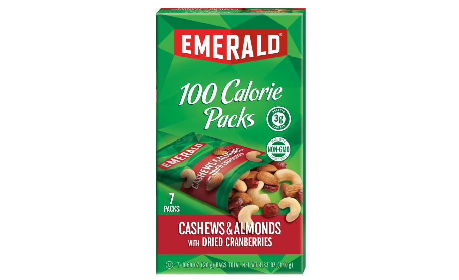 Emerald nuts 100-calorie packs