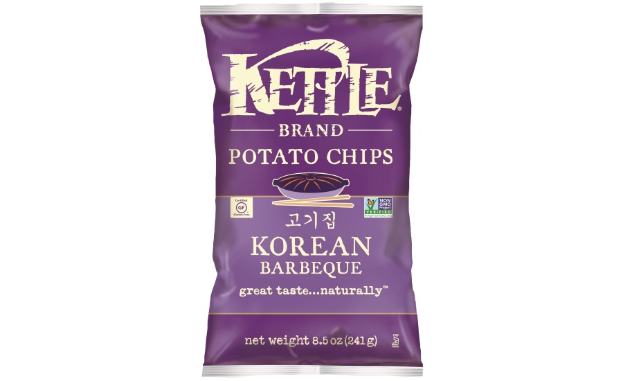 Kettle Chips korean BBQ chips