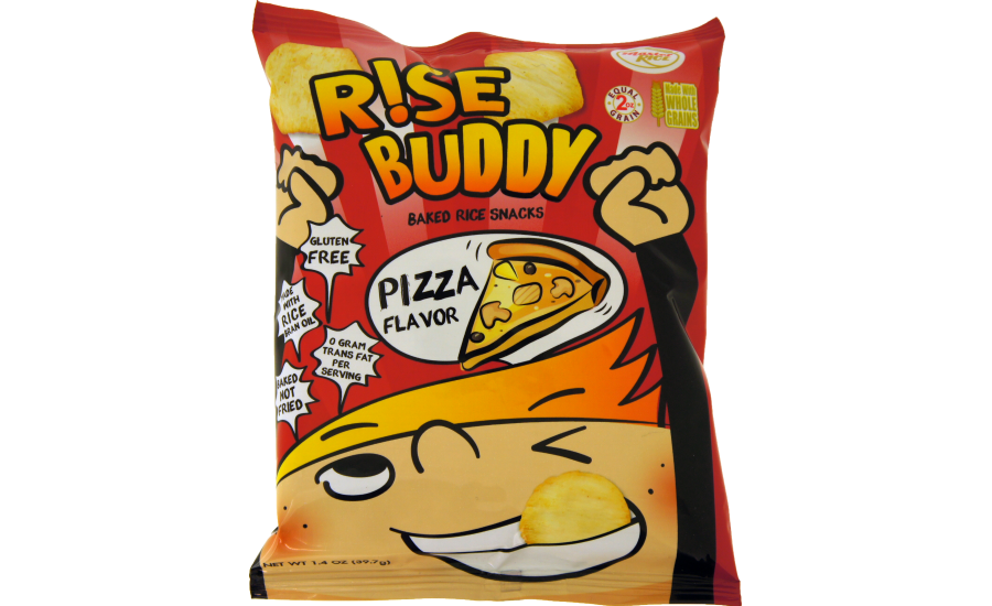 Rise Buddy whole grain brown rice chips