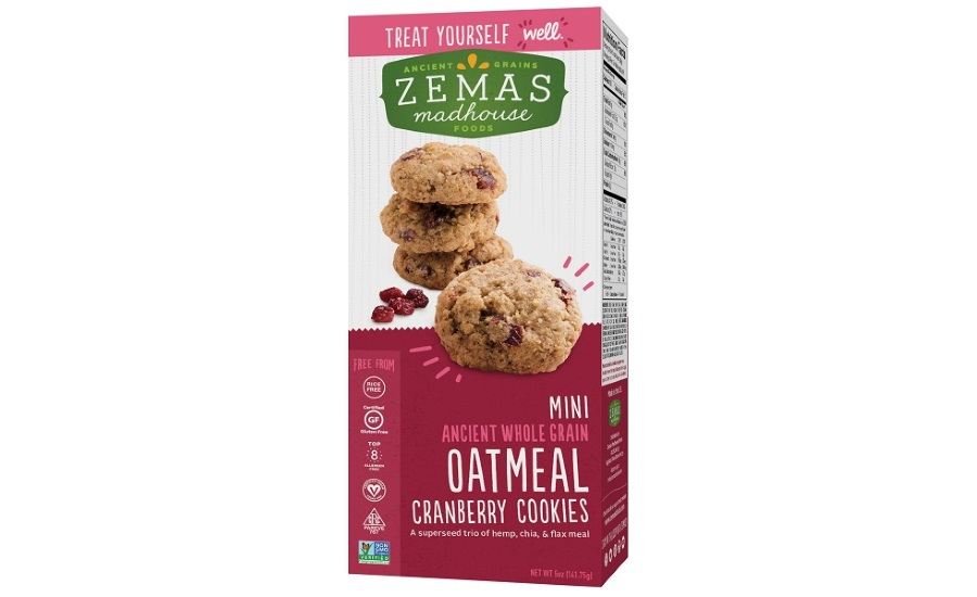 Zemas Madhouse whole grain mini cookies