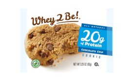 Whey 2 Be protein cookie