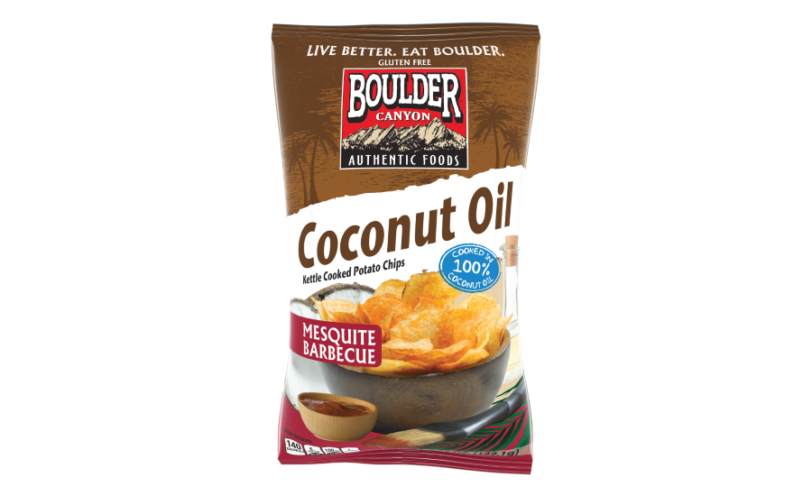 Boulder Foods Mesquite BBQ coconut oil chips