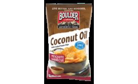 Boulder Foods Mesquite BBQ coconut oil chips