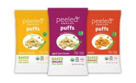 Peeled Snacks veggie puffs